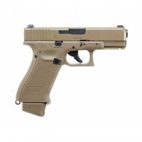 Šratasvydžio pistoletas AEG Glock 19X Blow back, 6 mm coyote CO2 Umarex 2.6435 Pistols
