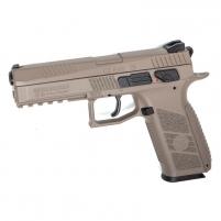 Šratasvydžio pistoletas Airgun, GBB, CO2, 4.5mm pellet, CZ P-09, FDE Pistoles