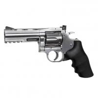 Šratasvydžio pistoletas Revolver, GNB, CO2, DW 715, 4, silver Pistoles