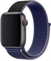 Sriegiuojantis sportinis dirželis Wotchi Apple Watch - Mėlyna / juoda42/44 mm Sport watches