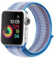 Sriegiuojantis sportinis dirželis Wotchi Apple Watch - Šviesiai mėlynas 38/40 mm Sporta pulksteņi