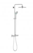 Stacionari dušo sistema Grohe, Euphoria 260, su termostatiniu maišytuvu ir lietaus zonų reguliavimu Dušas krāni