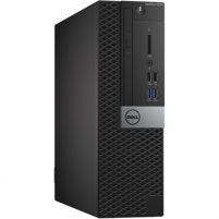 Stacionarus kompiuteris Dell Optiplex 5050 Desktop, SFF, Intel Core i5, i5-7500, Internal memory 8 GB, DDR4, SSD 256 GB, Intel HD, Tray load DVD Drive (Reads and Writes to DVD/CD), Keyboard language English, Windows 10 Pro Galddatori