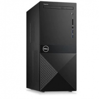 Stacionarus kompiuteris Dell Vostro 3670 Desktop, Tower, Intel Core i7, i7-8700, Internal memory 8 GB, DDR4, HDD 1000 GB, Intel HD, Tray load DVD Drive (Reads and Writes to DVD/CD), Keyboard language English, Windows 10 Pro, Warranty Basic Onsite 48 mont