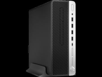 Stacionarus kompiuteris HP ProDesk 600 G3 SFF i3-7100 4GB 500GB DVD Win 10 Pro 64 + mysz + klaw Staliniai kompiuteriai