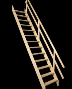 Stacionarūs laiptai MSU UNIVERSAL 65 cm. Stairs