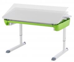 Stalas KETTLER MAZE 3 dėž. white/white/green Ergonominiai biuro baldai