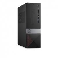 Stalinis kompiuteris Dell Vostro 3268 Desktop, SFF, Intel Core i5, i5-7400, Internal memory 8 GB, DDR4, SSD 256 GB, Intel HD, Reads and Writes to DVD/CD, Keyboard language English, Windows 10 Pro, Warranty 36 month(s)