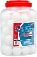 Stalo teniso kamuoliukai GET & GO 61PL 60vnt Galda tenisa bumbiņas