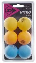 Stalo teniso kamuoliukai NITRO GLOW 6vnt Stalo teniso kamuoliukai