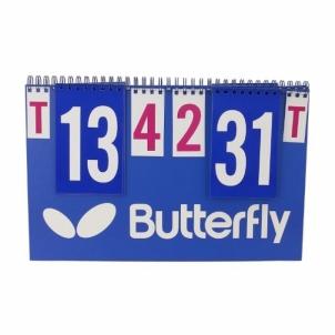 Stalo teniso rezultatų lentelė Butterfly Table tennis accessories
