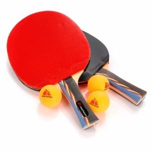Stalo teniso rinkinys METEOR MISTRAL***, 2 raketės ir 3 kamuoliukai