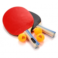 Stalo teniso rinkinys METEOR SIROCCO**, 2 raketės ir 3 kamuoliukai