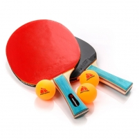 Stalo teniso rinkinys METEOR ZEPHYR*, 2 raketės ir 3 kamuoliukai Stalo teniso raketės