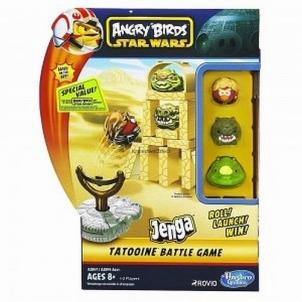 Stalo žaidimas A2847 / A2844 Angry Birds Star Wars Jenga TATOOINE Board games for kids