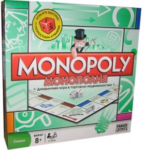 Stalo žaidimas HASBRO 00009 MONOPOLY STANDARD RUS Galda spēles bērniem