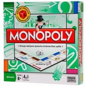 Stalo žaidimas HASBRO 00009L MONOPOLY STANDARD Board games for kids