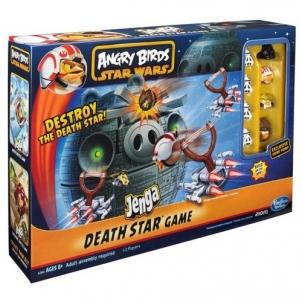 Stalo žaidimas Hasbro Angry Birds Star Wars Jenga Death Star A2845 Galda spēles bērniem