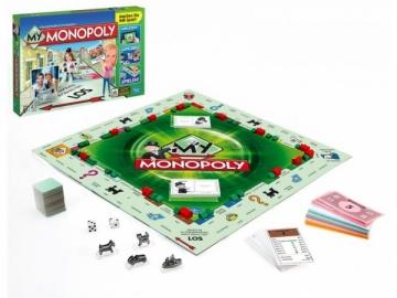 Stalo žaidimas Hasbro Monopolis (A8595) 2014 Electronic Board games for kids