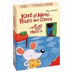 Stalo žaidimas Katė iš namų... pelės ant stalų! Stalo žaidimai vaikams