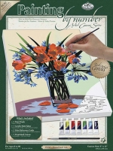 Stalo žaidimas ROYAL BRUSH PCS2 Hobby Floral Still Life Board games for kids