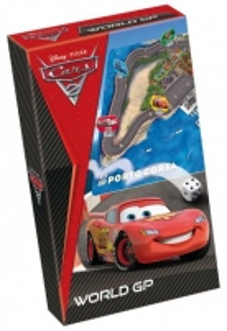 Stalo žaidimas TACTIC 40105 Cars 2 WORLD GP PORTO CORSA Galda spēles bērniem