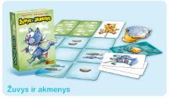 Stalo žaidimas Žuvys ir akmenys