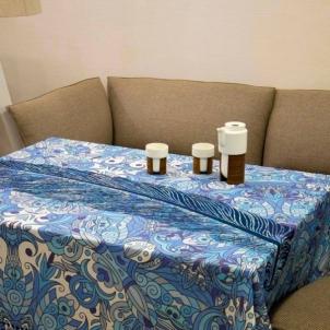 Staltiesė Mėlyni Krantai 145x145 cm