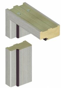 Standard door frame INVADO K60 44/90 Forte cedar (B462) Veneered doors