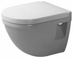 Starck III Compact tualete, tvirtinamas prie sienos, baltas