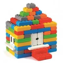 """Statybinės kaladėlės """"Plytos Junior"""" 90 detalių Kaladėlės ir statybos žaislai"""
