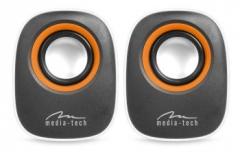 Stereo kolonėlės Media-Tech IBO RMS 6W Baltos Kolonėlės