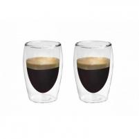 Stiklinės su dvigubomis sienelėmis Boral Espresso-Set (2vnt.) L19008 Stikla
