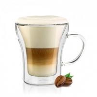 Stiklinis puodelis su dvigubomis sienelėmis 1vnt (7776) Kavai ir arbatai