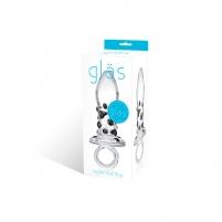 Stiklinis žaislas Nubis Glass phallus simulators
