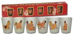 Stikliukai Shot Glass set 6 pcs