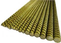 Stiklo-bazalto pluošto armatūra Ø 10 mm Mesh reinforcement, concrete networks. retainers