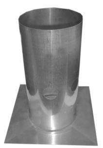 Stogelis įdėklo 0.6 mm D140 Kaminų komplektuojančios dalys ir priedai