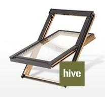 Lūka RoofLITE HIVE DPX500 78x118 cm, koka