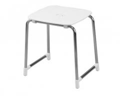 Kėdė WHITE/CHROME