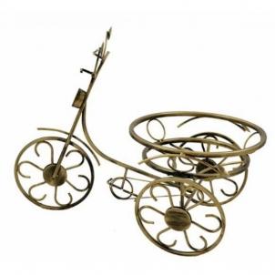 Stovas gėlėms 10-0111 39*56cm 1vnt dviratukas Gėlių stovai