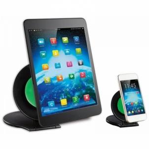 Stovas Techly x2 skirtas planš. kompiuteriams ir išman. telefonams, juodas