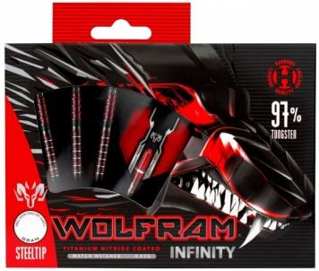 Strėlytės Darts Steeltip VOLFRAM INFINITY 97% 3x23gR