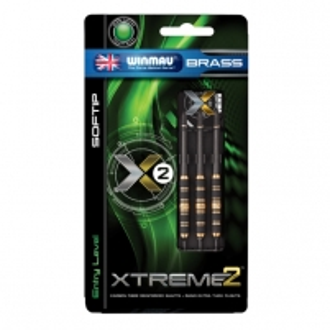 Strėlytės Xtreme Brass 2 18g Šautriņas
