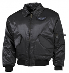 Striukė juoda CWU Flyers Soldier jackets, jackets