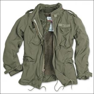 Striukė M65 oliv 20-2501-61 Kariškos, medžioklinės striukės, švarkai