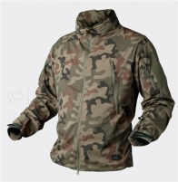Strukė TROOPER Soft Shell Helikon,PL woodland KU-TRP-NL-04