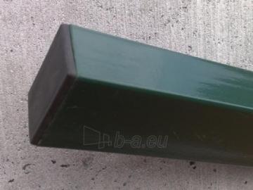 Stulpas karštai cinkuotas 60x40x2250 dažytas Poļi, žogu