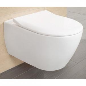 Subway 2.0 Direct Flush hanging toilet with plonu soft close Lavatory closets