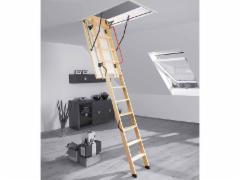 Folding section loft ladders FAKRO LWK KOMFORT 55x111x280 3 section